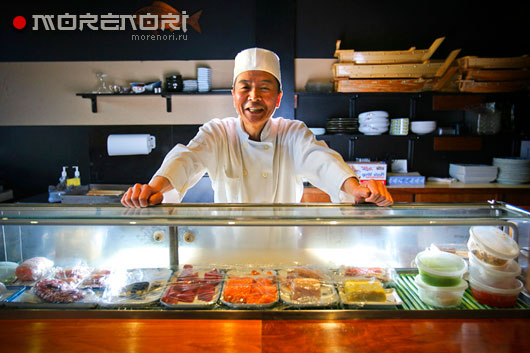 Большой выбор суши