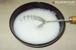 кальмары в кляре - взбиваем белок