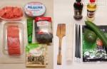 ингредиенты для приготовления домашних суши