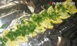 полоска из лимонов на фольге