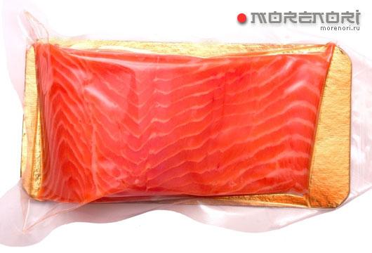лосось в упаковке