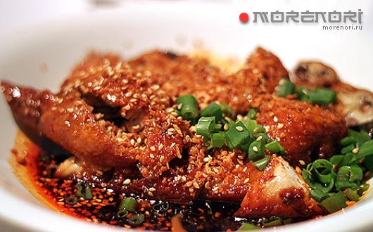 Цыпленок по-сычуаньски