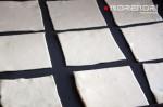 готовим квадраты для тарталеток