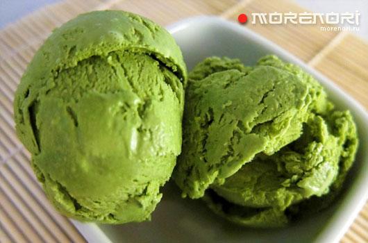 рецепт мороженого из зеленого чая