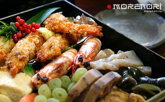 микроволновка и морепродукты