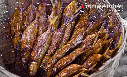 копченое мясо и рыба