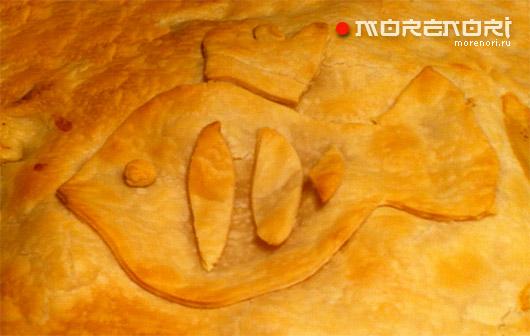 рыбный пирог «царский»