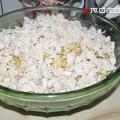 добавляем филе в салатник