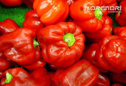 яркие овощи