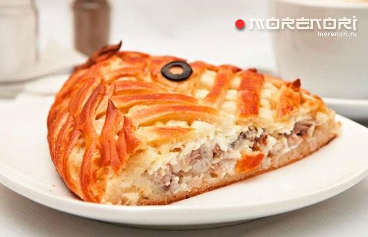 Скандинавский пирог с сельдью