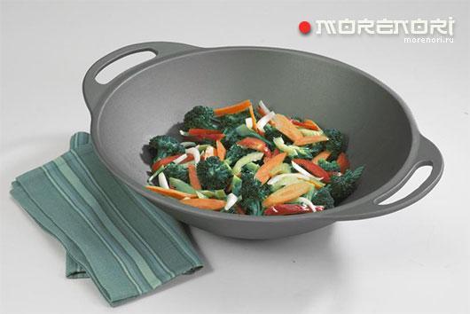 Сковорода вок с керамическим покрытием