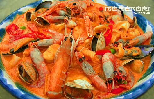 Похлебка из морепродуктов