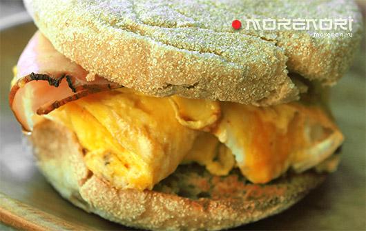 Рецепт маффина для горячего бутерброда