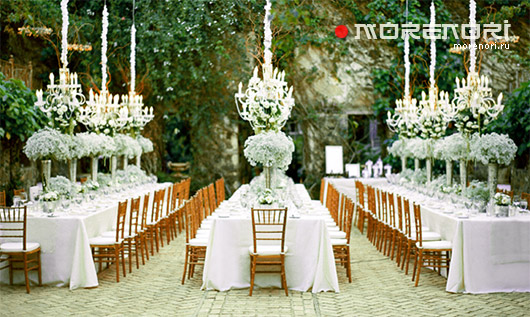 банкетный зал для свадебных торжеств