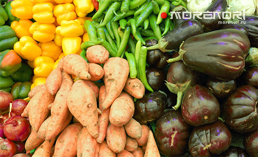 Овощи в Японии