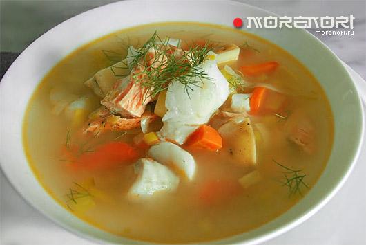 Заправочные рыбные супы