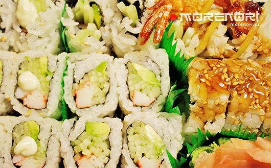 Свежеприготовленные суши