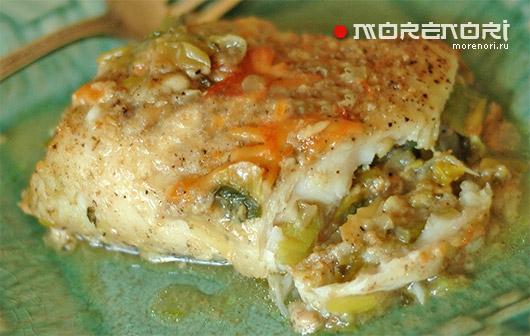 Рецепт приготовления фаршированной рыбы