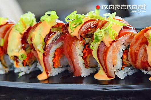 Как правильно подавать японские блюда