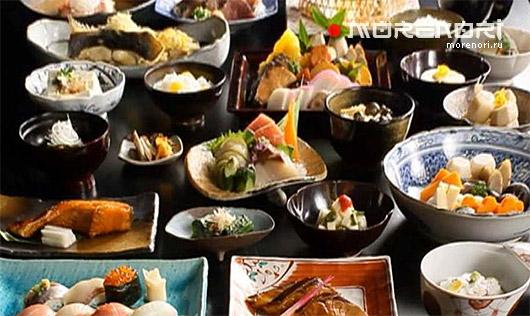 Особенности и традиции японской кухни