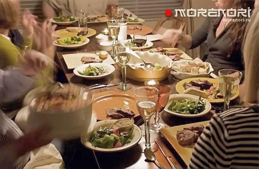 Как быстро накормить гостей