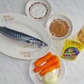 Продукты для приготовления фаршированной скумбрии