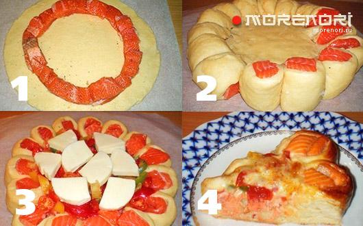Как сделать пирог в виде рыбки