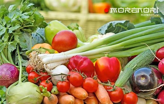 Залежавшиеся овощи и фрукты