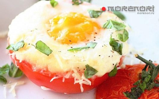 Яйца на завтрак