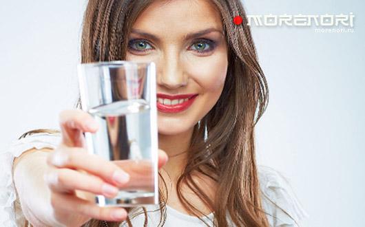 стакан воды после пробуждения