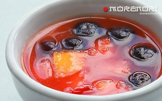 фруктовый суп в мультиварке