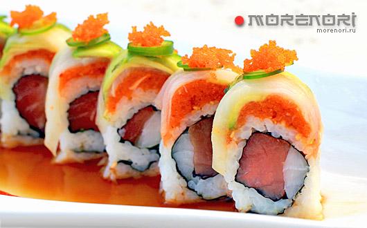 Быстрая доставка суши в Алматы