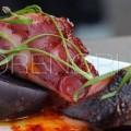 блюдо из полезного мяса осьминога