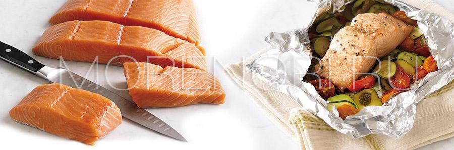 рецепт «лосось в фольге»