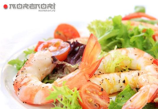 полезные морепродукты
