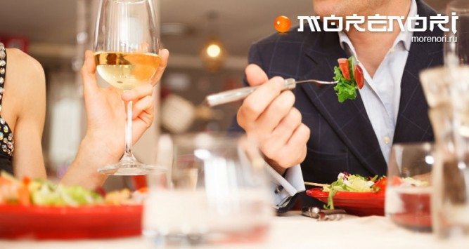 Романтический ужин на день Святого Валентина