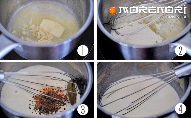 готовим форель под чесночным соусом