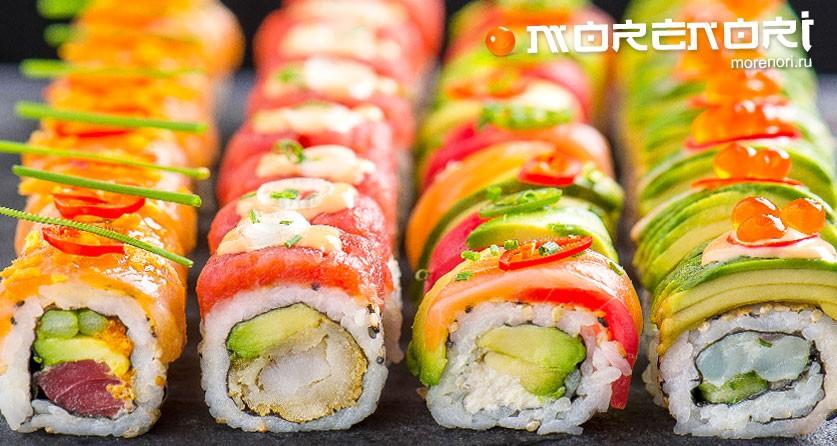 Какие бывают суши