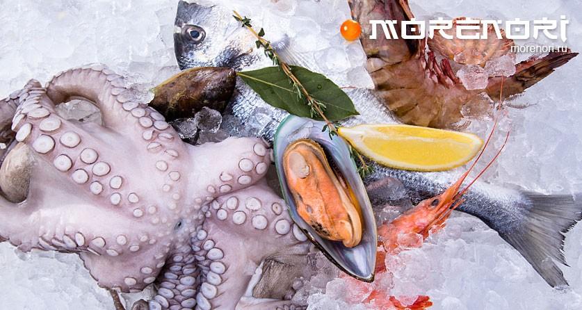 Морепродукты на нашем столе