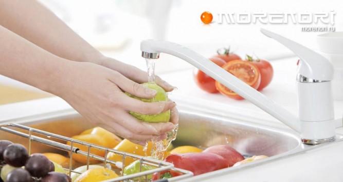 Как правильно мыть овощи