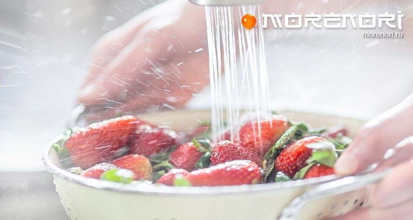 как мыть ягоды