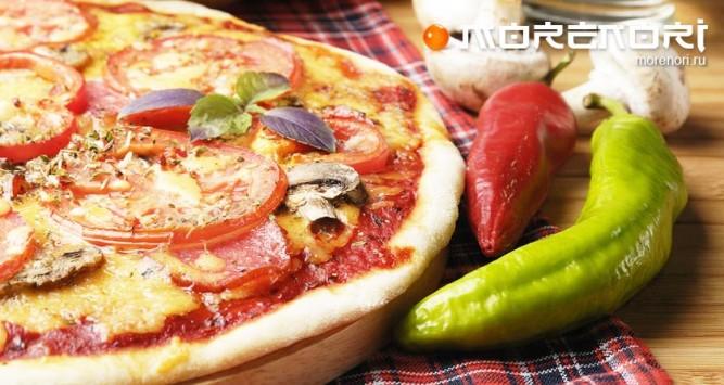 пицца - вкусная еда