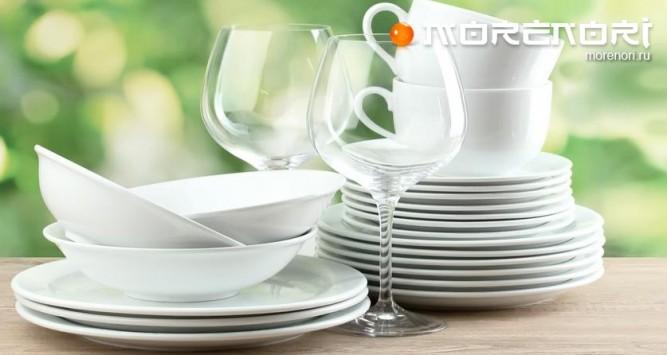 выбор тарелок для кухни