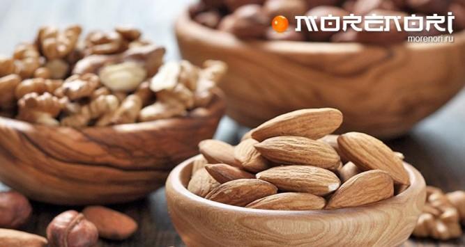 Самые популярные орехи
