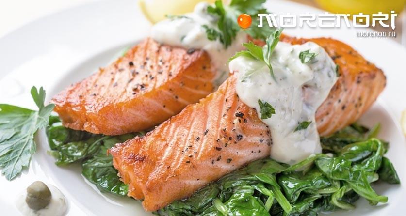 блюда из филе лосося