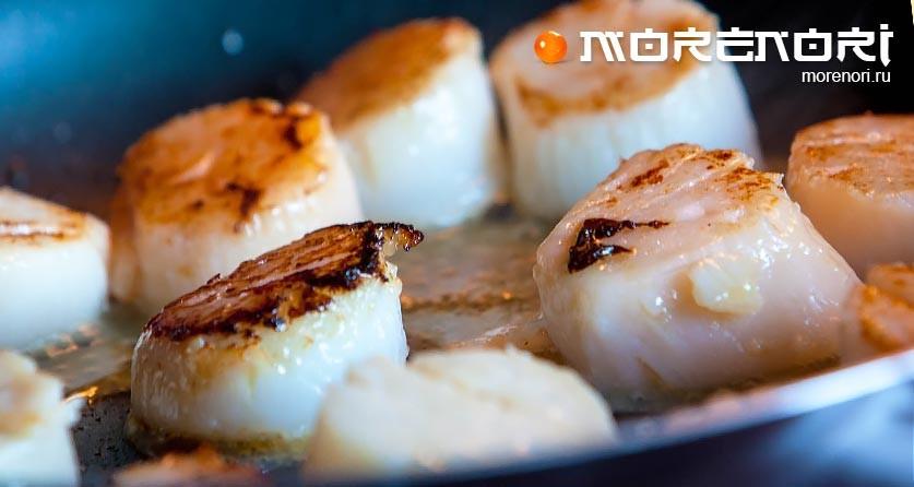 блюда из морских гребешков