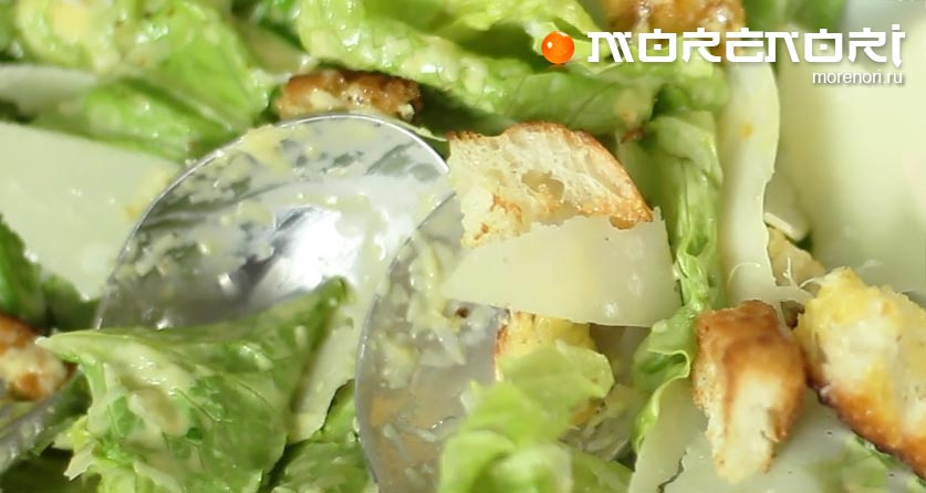 салат цезарь самый популярный салат