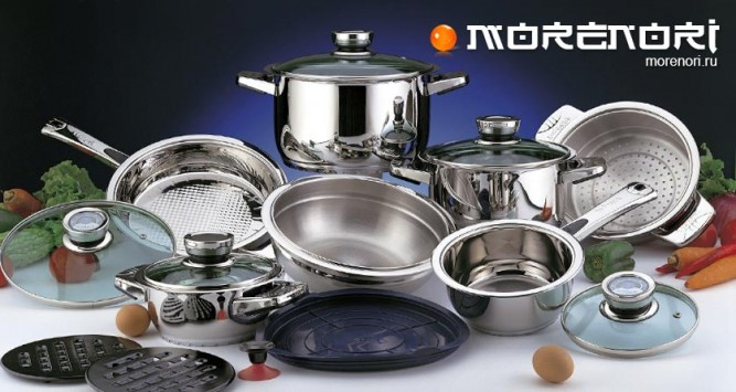 хороший набор посуды