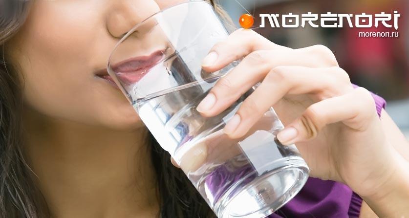 Вода влияет на блюда