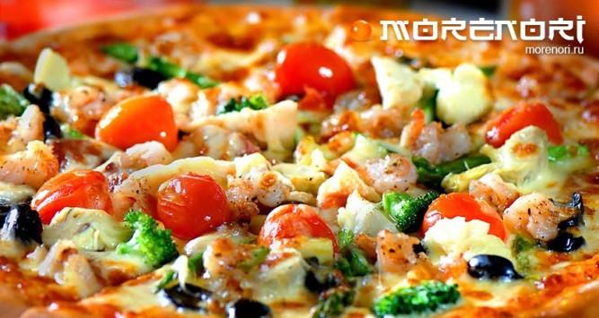 Доставка вкусной пиццы в Киеве